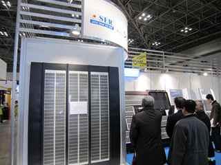 球状シリコン太陽電池